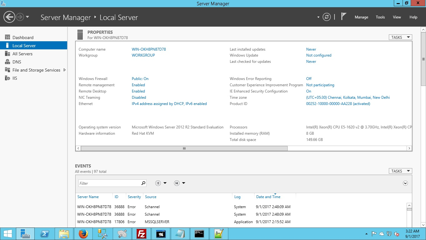 how to make windows server 2008 r2 automaticly login